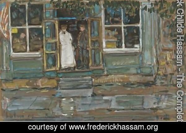 Frederick Childe Hassam - Grocery Store, Phoenecia