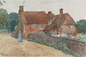 Frederick Childe Hassam - Broadstairs Cottage