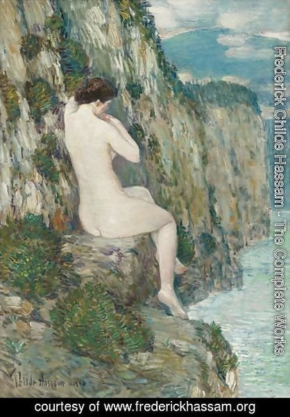 Frederick Childe Hassam - Nude Isle Of Shoals