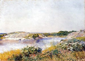 Frederick Childe Hassam - The Little Pond, Appledore