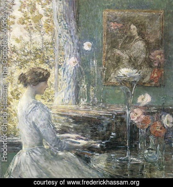 Improvisation By Frederick Childe Hassam