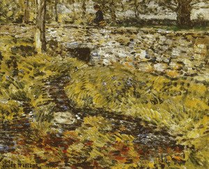 Frederick Childe Hassam - Stone Bridge