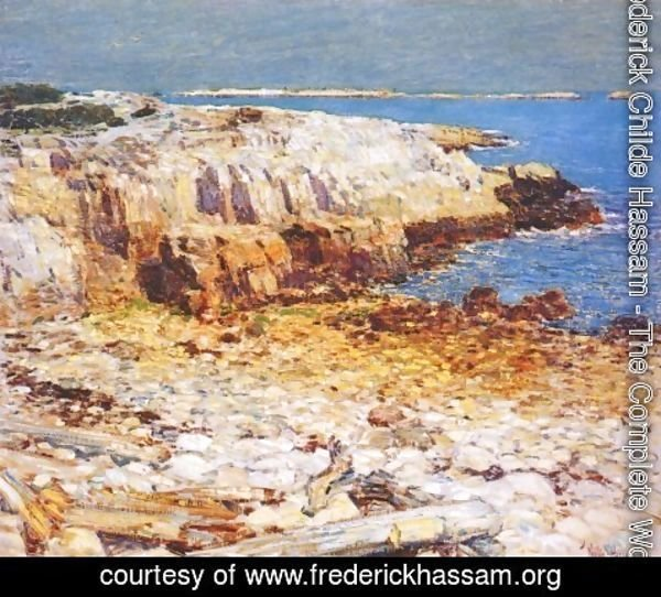 Frederick Childe Hassam - Northeast Headlands, New England Coast
