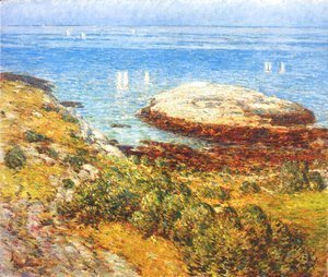 Frederick Childe Hassam - Early morning calm