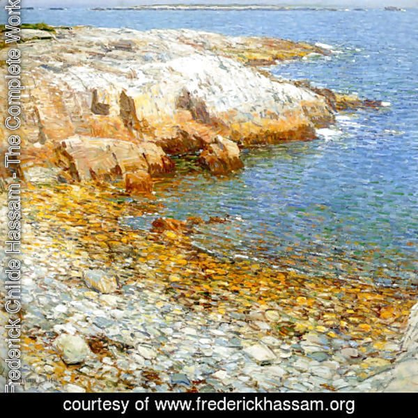 Frederick Childe Hassam - Isles of Shoals, Broad Cove