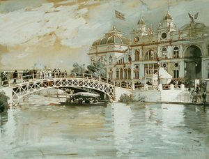 Frederick Childe Hassam - Columbian Exposition, Chicago